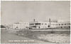 Postcard: Moose Factory Indian Hospital. View from road to river.