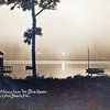 Moonlight Scene from the Blue Heron<br /> Crystal Beach, Florida<br /> 1914