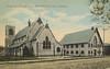 Postcard: Belleville, Ontario: Christ Church and Parish Hall