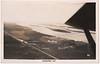 Postcard: Moosonee aerial photo mailed 1949 August 13 to Akron Ohio.