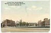 Postcard: Belleville showing Bridge Street Methodist Church, Hotel Quinte, Opera House and Armouries. Mailed 1926.