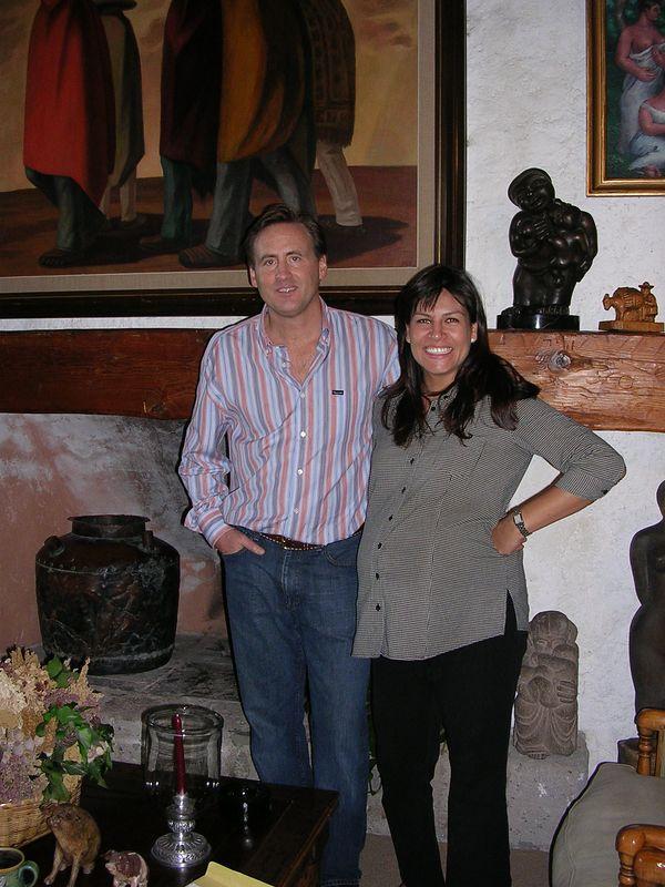 2/25/-5 Lance & Erica Aaron at their home in Bosque de las Lomas in Mexico City