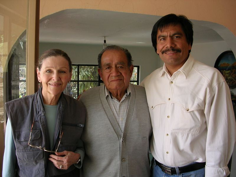 2/15/05 Lenore, Professor Chema and Angel Santos