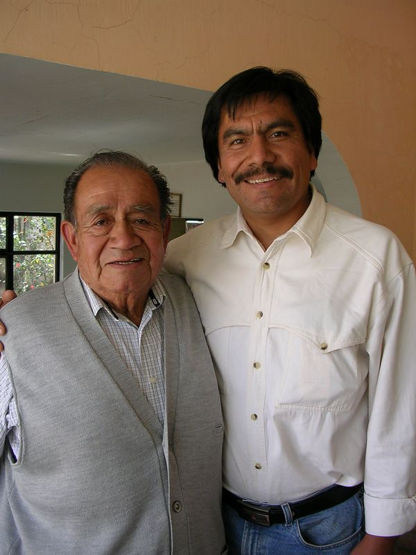 2/15/05 Professor Chema and Angel Santos