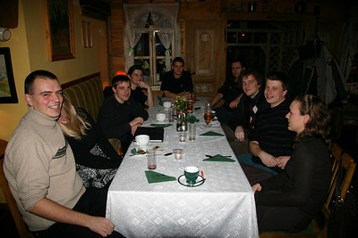 Dinner with the Poznan office at the W-Z.