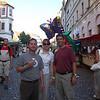 Town festival in Pisek, Czech Republic: 3 Stooges??