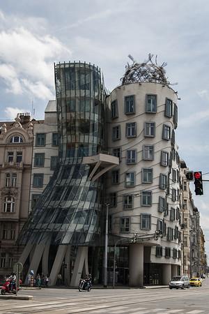 Frank Gehry's ballerina building