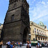 the leaning powder tower of prague