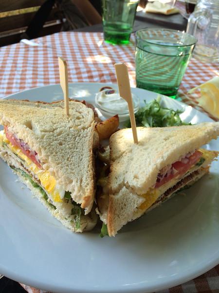 Club Sandwich Czech Style