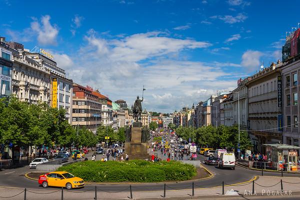 Wenceslas Square (Václavské náměstí)