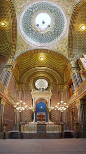Spanish Synagogue. Prague spring 2017