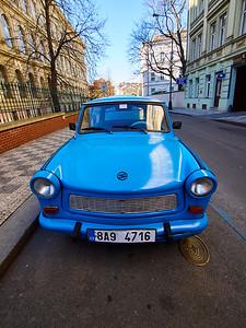 Trabant. Prague spring 2017