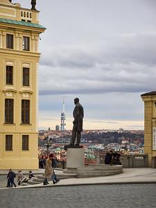 Prague Castle. Prague spring 2017