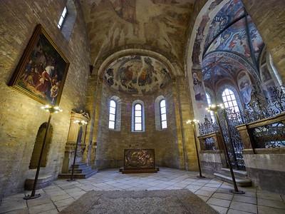 St George's Basilica. Prague Castle. Prague spring 2017