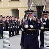 Guards of the Democracy . Prague Castle. Prague spring 2017