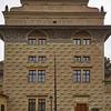 Schwarzenbersky Palac. Prague Castle. Prague spring 2017