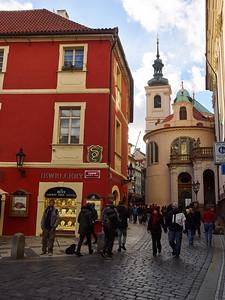 Jewels. Stare Mesto. Prague spring 2017