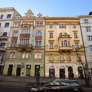 Streetviews. Prague spring 2017