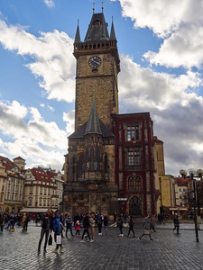 The Old Townhall. Stare Mesto. Prague spring 2017