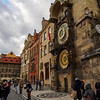 Astronomical Clock. Stare Mesto. Prague spring 2017