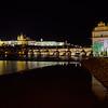Prague spring 2017 . Prague by night