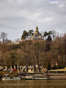 By the Vltava. Prague spring 2017