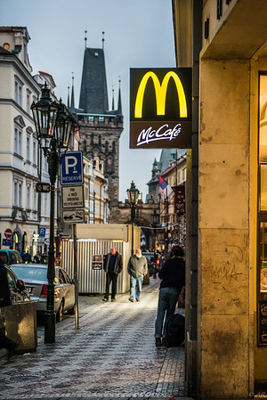 McDonalds in Prague
