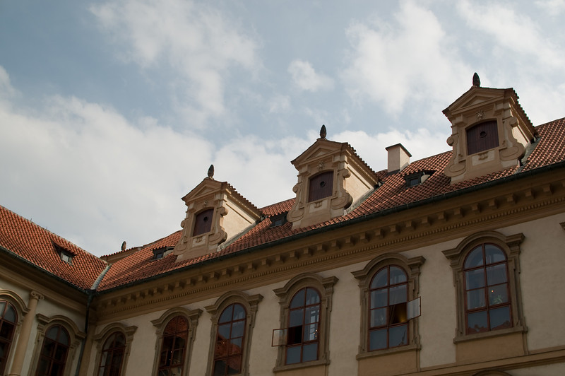 Roof, Prague Castle gardens