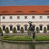 Pond, Prague Castle gardens