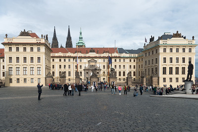 Prague Castle. Prague, Czech Republic.
