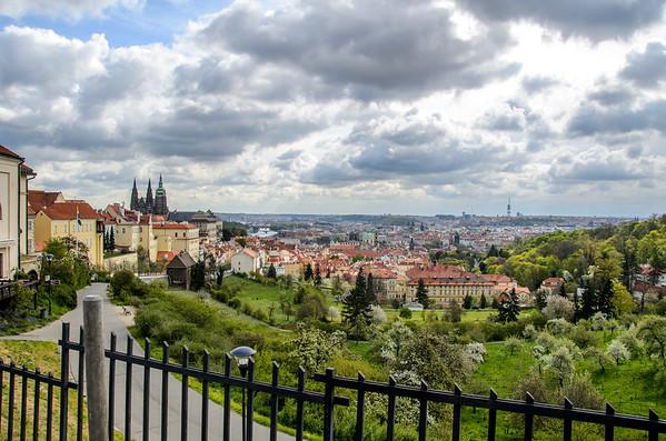 Panoramic View over Prague