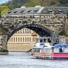Boat Under Charles Bridge