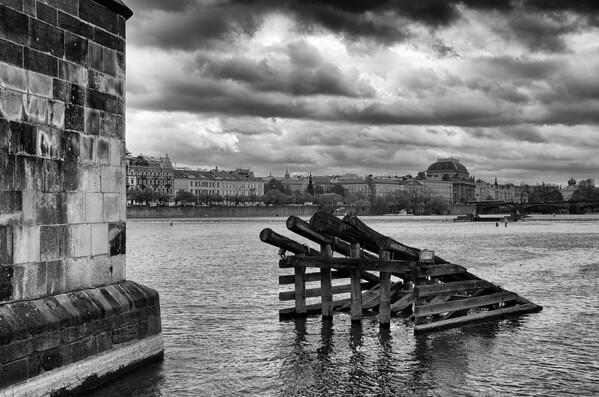 Under Charles Bridge