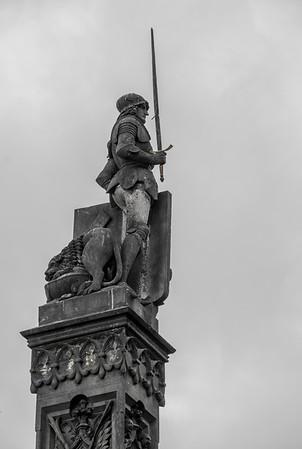 Statue from Charles Bridge