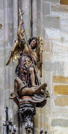 Saint Vitus Cathedral: Arch Angel Michel