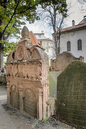 Jewish Cemetery: Grave of Rabbi Löw