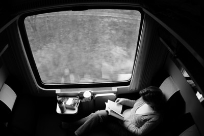 The train to Prague.