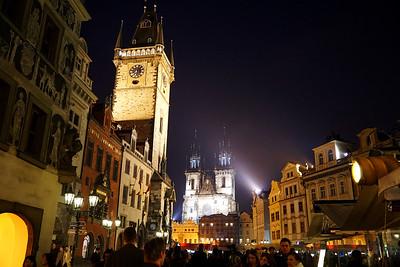 Old Town Square of Prague - Prahan vanhan kaupungin tori