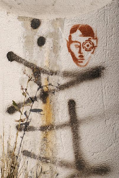Nazi Borg Graffiti