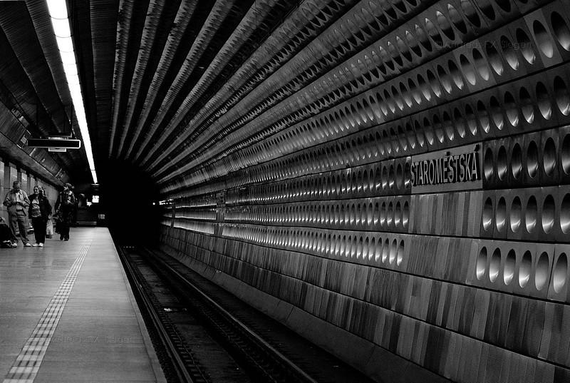 Staromestská<br /> Prague Metro Station