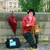 Organ Grinder on Charles Bridge