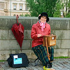 Organ Grinder on Charles Bridge