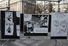 The Soviet soldiers who rolled into Prague in 1968 were greeted with a variety of protest posters, now commemorated in an exhibit in Wenceslas square.