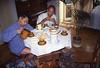 019  Praag - Oedi & Houw aan het ontbijt bij Sandova