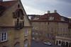 016  Praag - Balkonnetje vanaf Karelsbrug