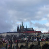 The Prague Castle from the other side of the Vlatava River. © 2005 JOANNE MILNE SOSANGELIS, All rights reserved