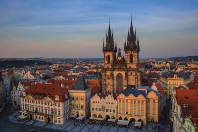 Sunset Glow in Prague #1