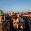 Sunset at Praha