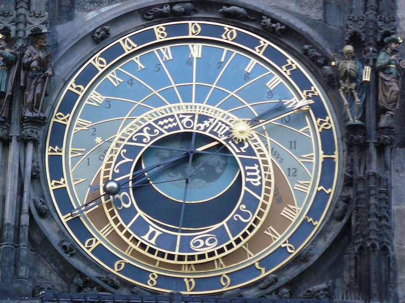 Astrological Clock - Close up