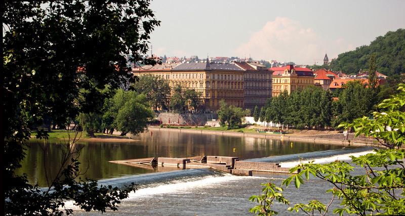 Prague and dam